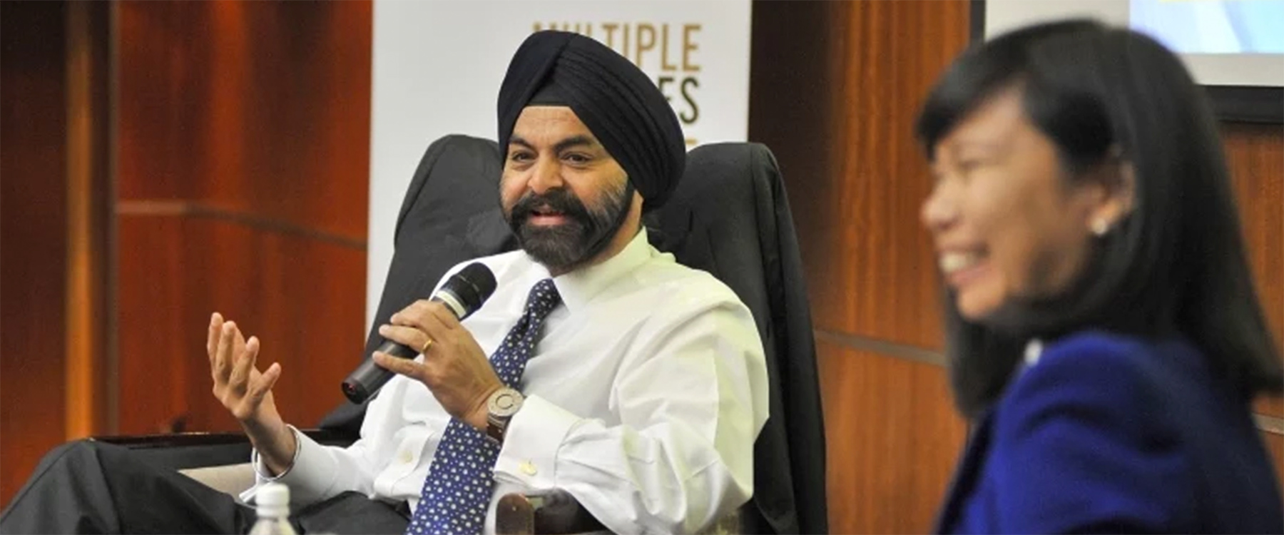 Corporate Responsibility with Ajay Banga
