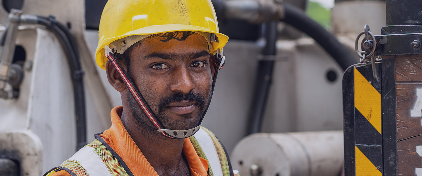 A Bangladeshi Construction Worker in Singapore