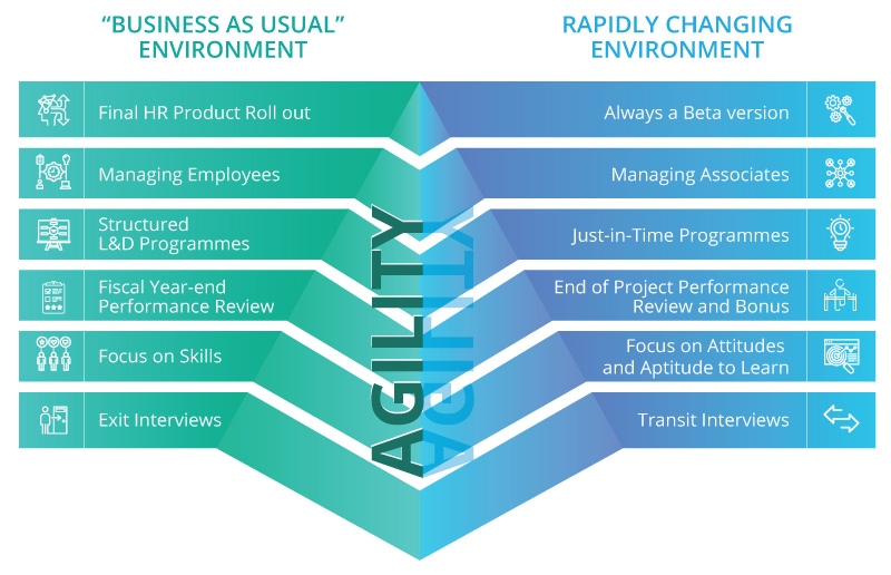 The prism of agility