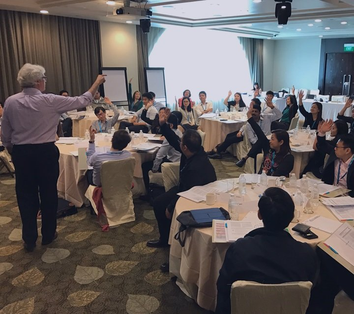 Young Asian leaders honing their skills in this specialised programme with the Darden School of Business