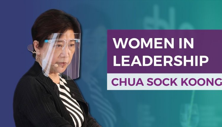 Embedded thumbnail for Chua Sock Koong on How Women Leaders Can Move Forward