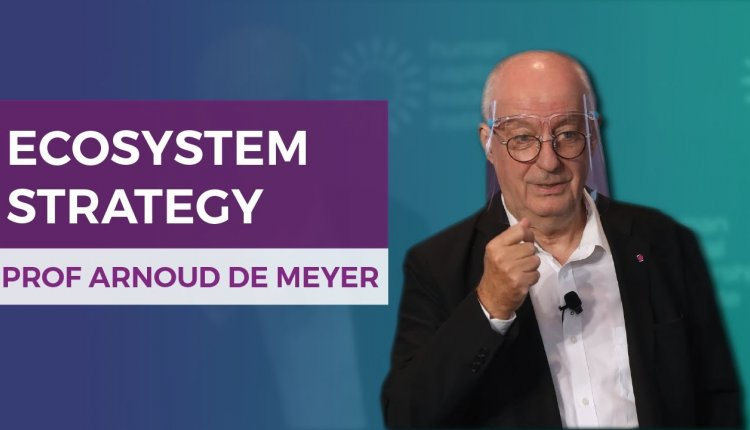 Embedded thumbnail for Professor Arnoud De Meyer on Why Your Company Should Adopt an Ecosystem Strategy