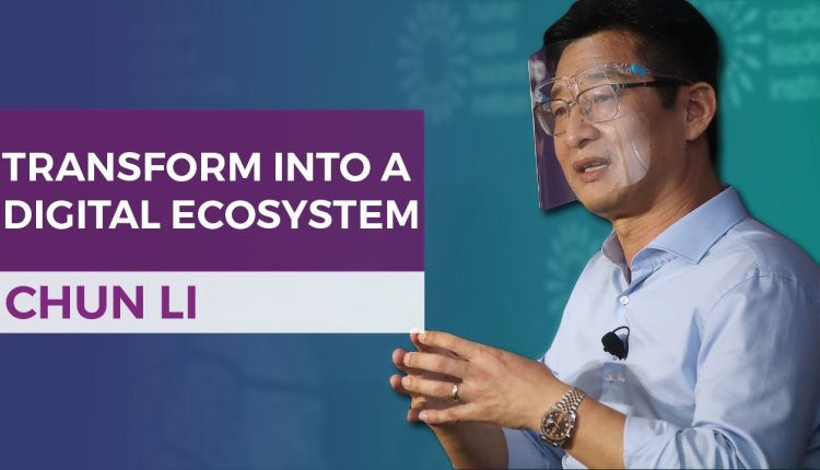 Embedded thumbnail for Chun Li on Digital Transformation In An Ecosystem