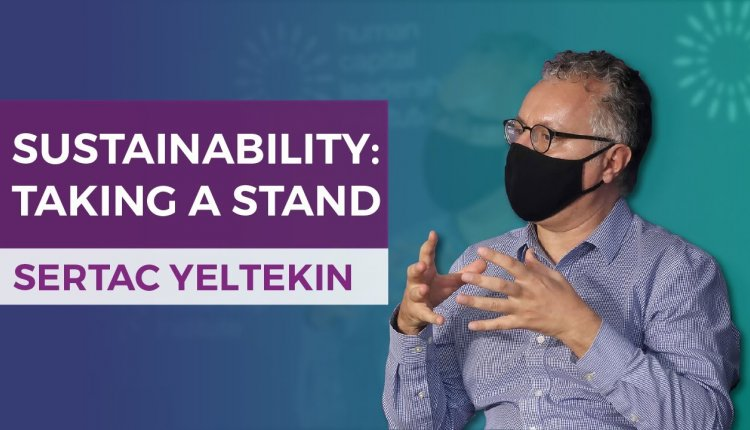 Embedded thumbnail for Sertac Yeltekin on Taking A Stance On Sustainability