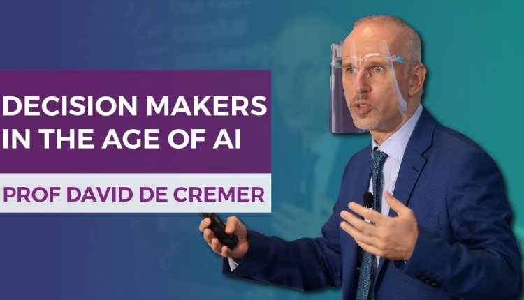 Embedded thumbnail for Professor David De Cremer on Why Humans Are Still the Decision-makers In the Age of AI